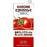 カゴメ トマトジュース(食塩入り) 1L[機能性表示食品]×6本