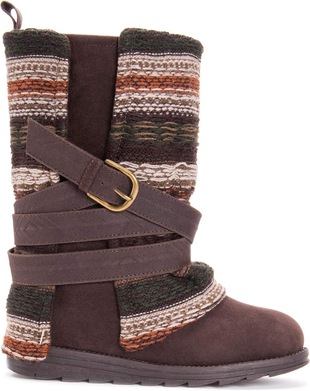 MUK LUKS Womens Nikita Boots Mid Calf