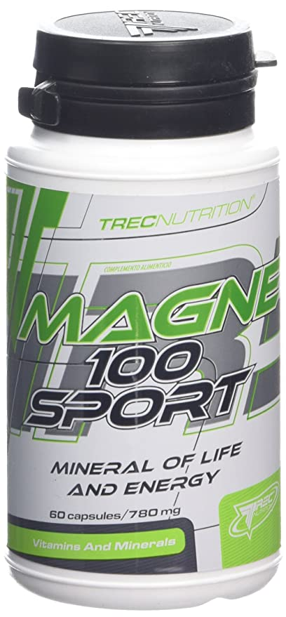 Trec Nutrition Magne 100 Sport 60 cápsulas