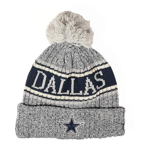 fba54d18c96d4 Image Unavailable. Image not available for. Color  Dallas Cowboys New Era  Fashion Sport Knit Hat