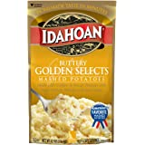 Idahoan Mashed Potatoes, Buttery Golden Selects, 4.1 Ounce