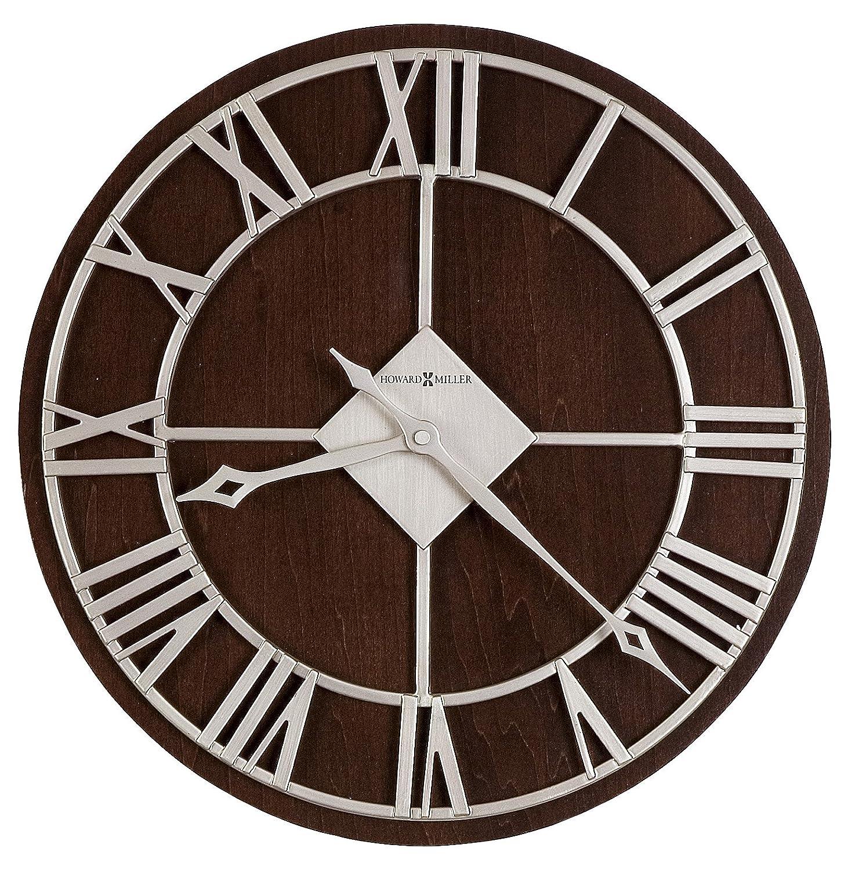 Amazon howard miller 625 496 prichard wall clock by home amazon howard miller 625 496 prichard wall clock by home kitchen amipublicfo Gallery