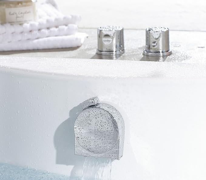 Hansgrohe 58117000 Exafill S embellecedor y tapa para bañeras normales y especiales, cromo: Amazon.es: Bricolaje y herramientas