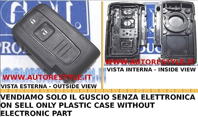 GMProduction – Toy SM1 – Carcasa de llave para Toyota sin logotipo, versión Smart Card [comprobar foto y detalles de compatibilidad]