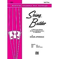 String Builder, Bk 3: Violin (Belwin Course for