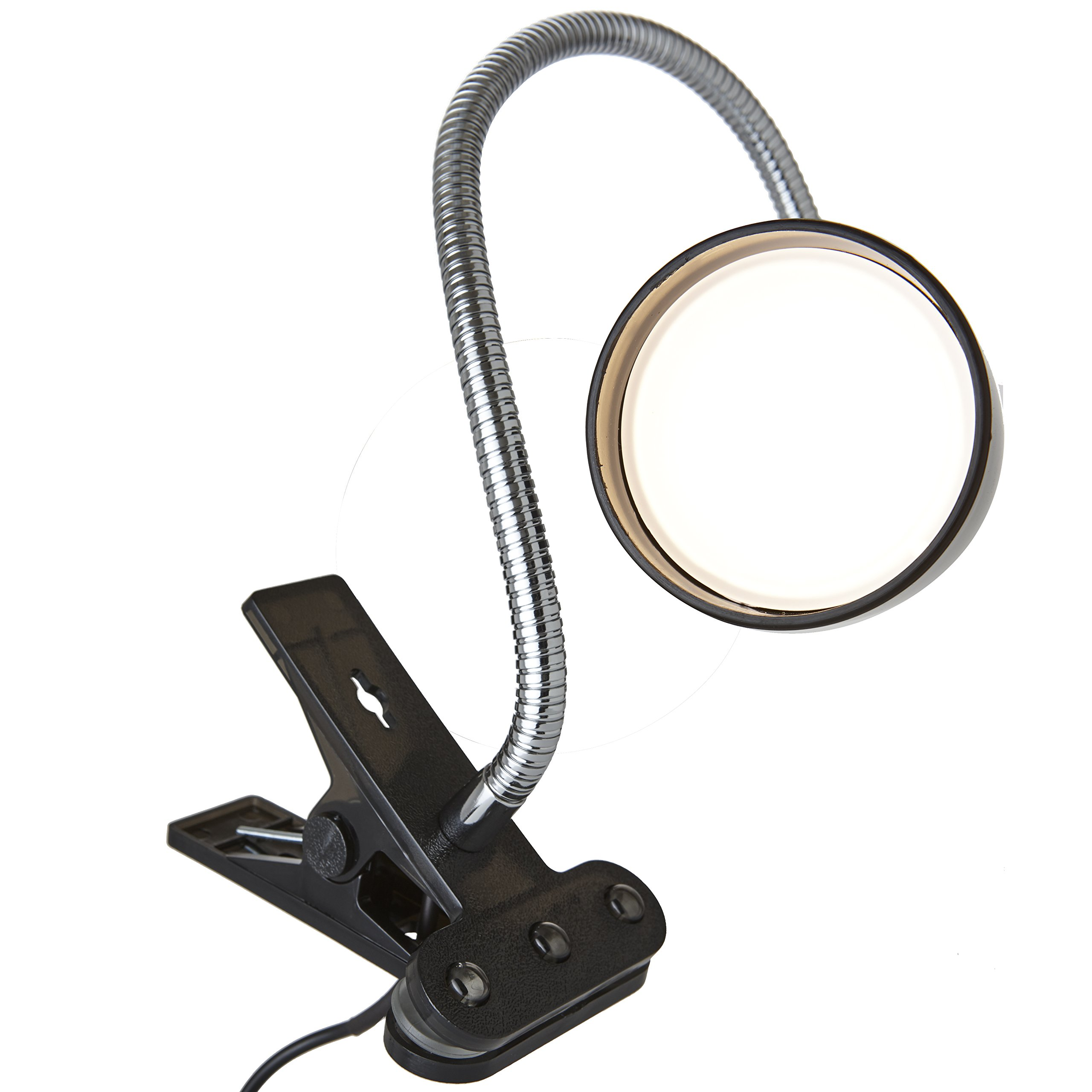 Newhouse Lighting 3W Energy-Efficient LED Clamp Lamp Light, Black by Newhouse Lighting (Image #4)