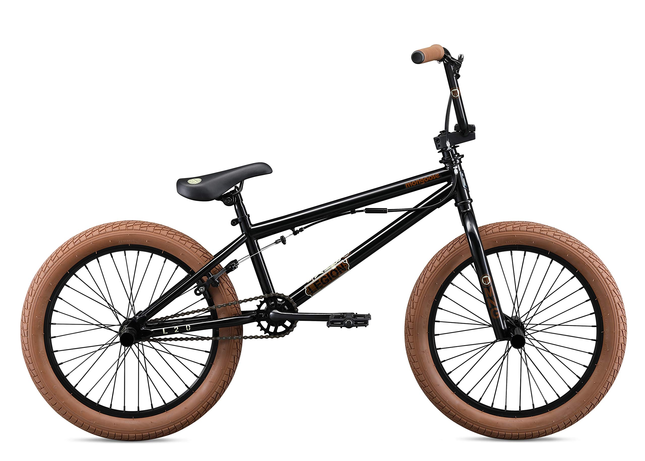 Mongoose Legion L20 Boy's Freestyle BMX Bike, 20 Inch Wheels