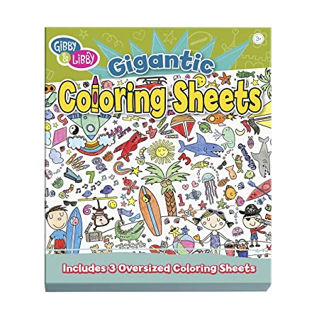 Amazon.com: C.R. Gibson Gibby & Libby Let The Coloring Begin ...