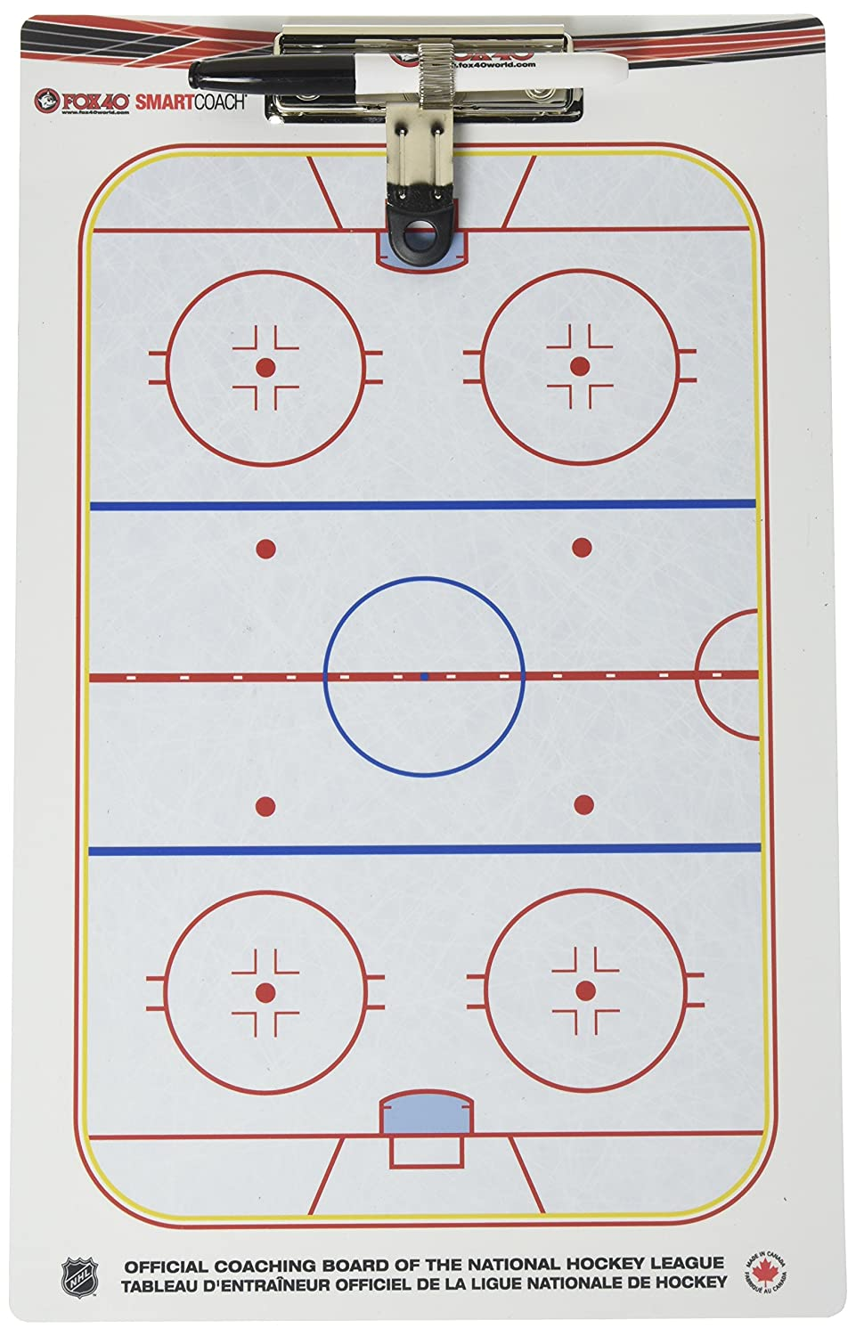 SmartCoach Pro Clipboard - Ice Hockey Fox 40 6920-0400