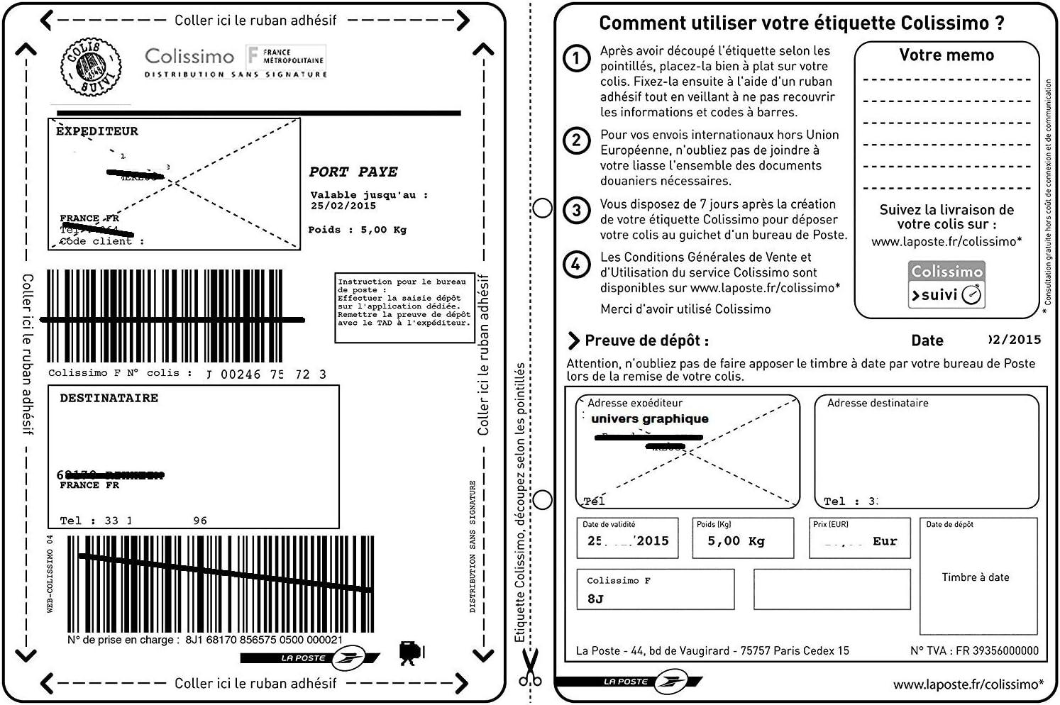 und Laserdruckern 50 A4-Blatt-Aufkleber 44 63,5 x 25,4 mm Klebeetikettenpapier f/ür Tintenstrahl