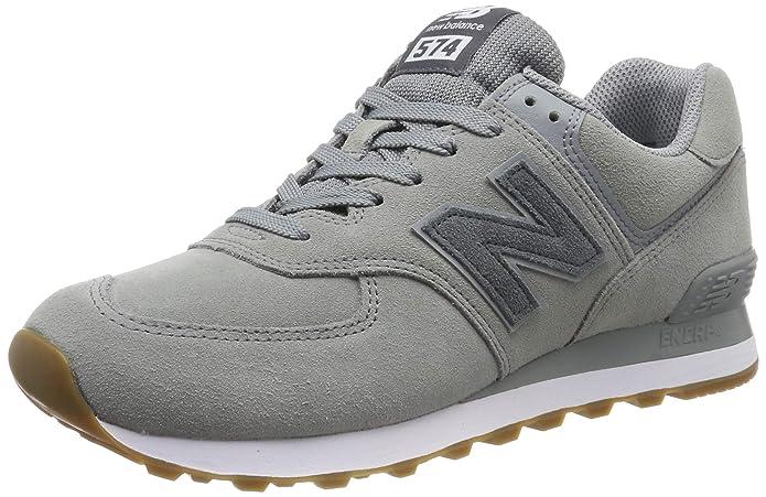 New Balance 574v2 Sneakers Herren Grau/Weiß