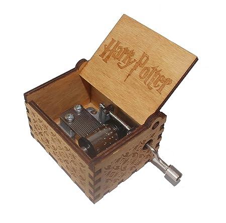 Wishing Holz Spieluhr Harry Potter Musik Box Hand Hölzerne Spieluhr Kreative  Holz Handwerk Holz Dekorative