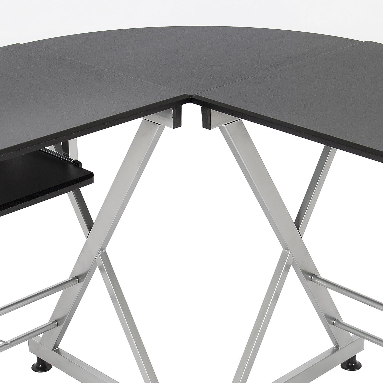 Amazon.com: Best Choice Products Wood L-Shape Corner Computer Desk ...