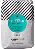 AmazonFresh Dark Roast Whole Bean Coffee, 32 Ounce (Pack of 1)