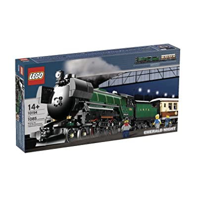 LEGO Creator Emerald Night Train (10194): Toys & Games
