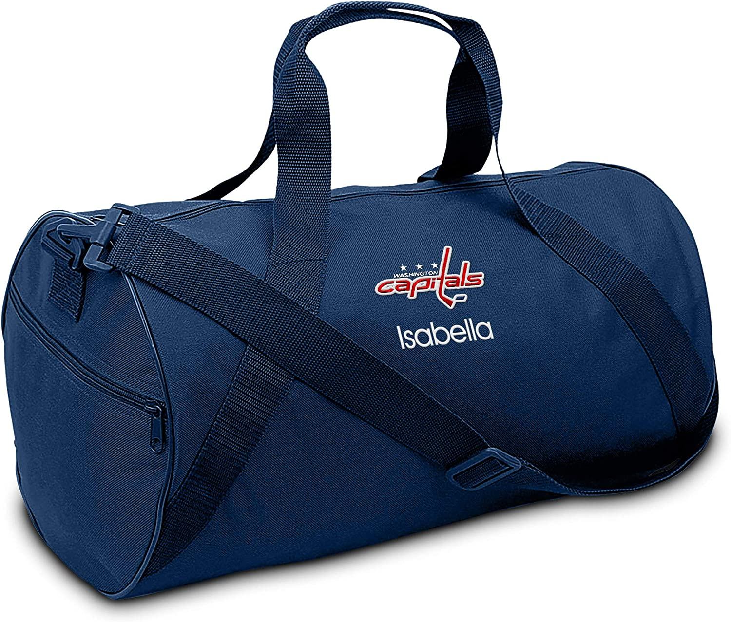 Designs by Chad and Jake Washington Capitals Personalized Youth Duffel Bag