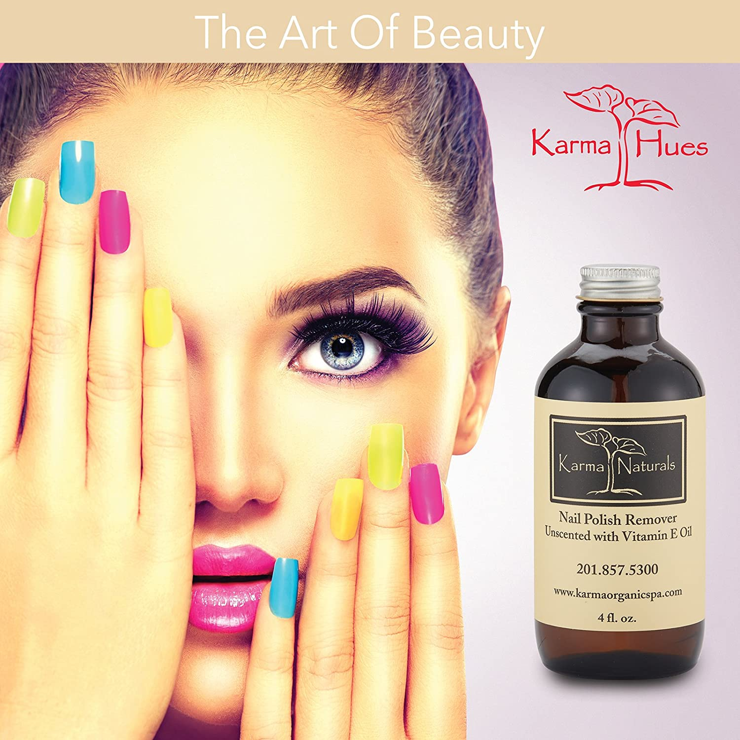 Buy Organic Nail Polish Remover Unscented Online at Low Prices in ...