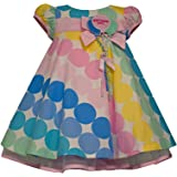 Bonnie Baby Girls Birthday Girl Dress Multi Color