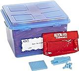hand2mind Blue, Plastic, Base Ten Blocks, Math