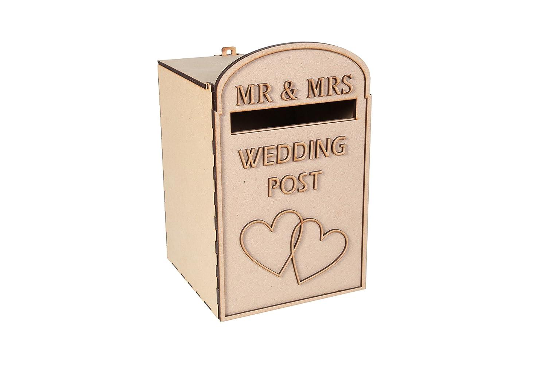Royal Mail Styled laserSmith Large Wedding Card Post Box