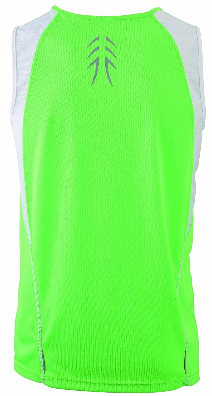 Camiseta Transpirable sin Mangas para Hombre James /& Nicholson Running Tank