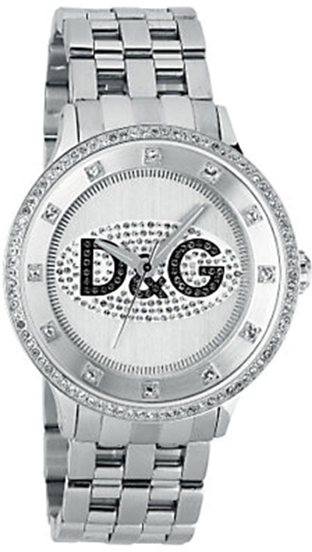 D&G Dolce&Gabbana Unisex-Armbanduhr Analog Quarz Edelstahl DW0131