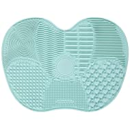 689b7b5cdd47 Ranphykx Silicon Makeup Brush Cleaning Mat Makeup Brush Cleaner Pad Cosmetic  Brush Cleaning Mat Portable Washing