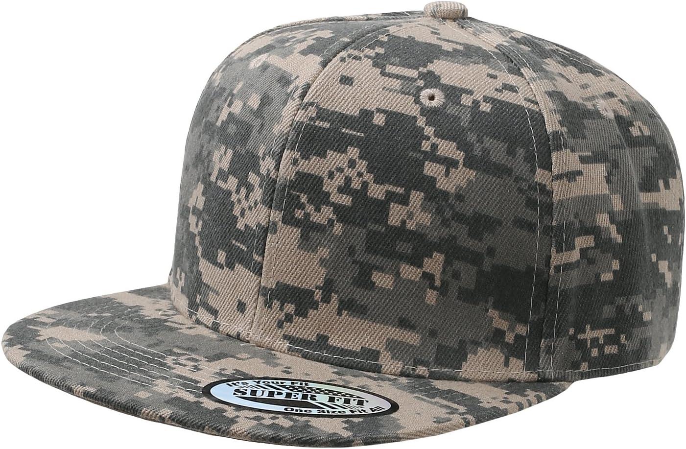 All Colors Adjustable Plain Snapback Hats Caps