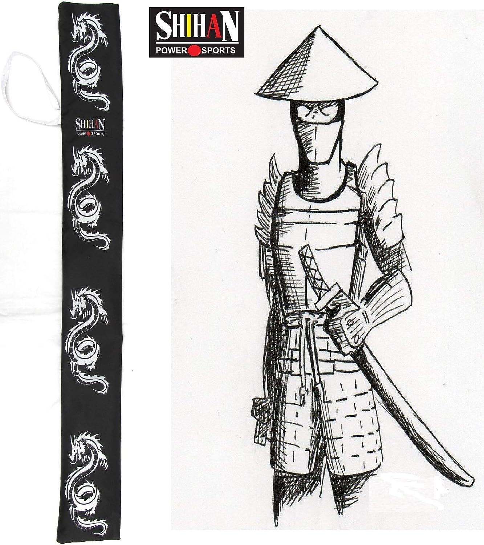SENDAI Japanese TRAINING Katana Samurai Sword Aikido Carry Case 115cm x 13cm