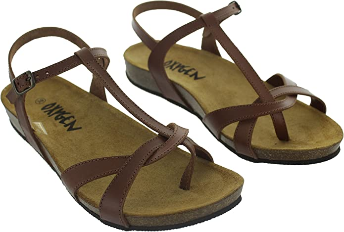 f600d6a20bf Oxygen Women s Aphrodite Footbed Sandals tan Size Not  FoundOxygenEU40UKfalse  Amazon.co.uk  Shoes   Bags