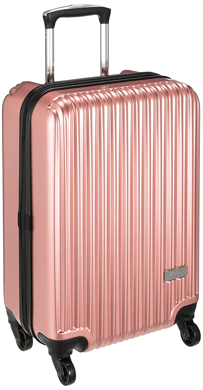[デイコマンド] スーツケース等  機内持込可 保証付 36L 55cm 2.9kg DC-0745-50 B06Y255SL3 ピンク ピンク