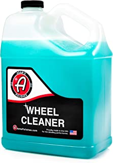 product image for Adam's Wheel Cleaner Gallon – Professional Car Wheel Cleaner Spray & Brake Dust Remover for Car Wash Detailing   Safe Rim Cleaner On Chrome Clear Coated & Plasti Dipped Wheels  Use w/Wheel Brush