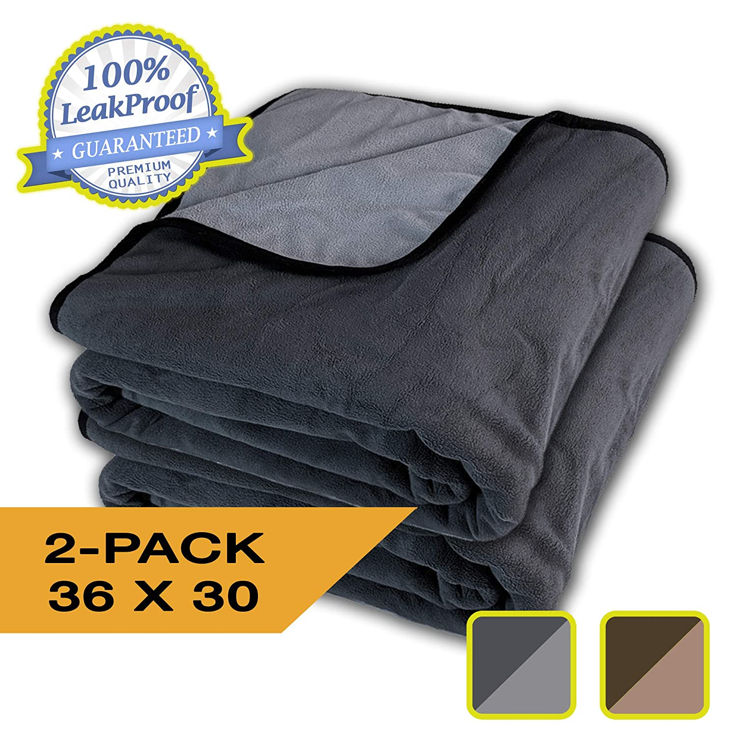 Colors//Sizes Cats 3 Layer Blanket Cozy Soft Adults Dogs Totally Pee Proof Baby Waterproof 100/% Leak Proof Pets