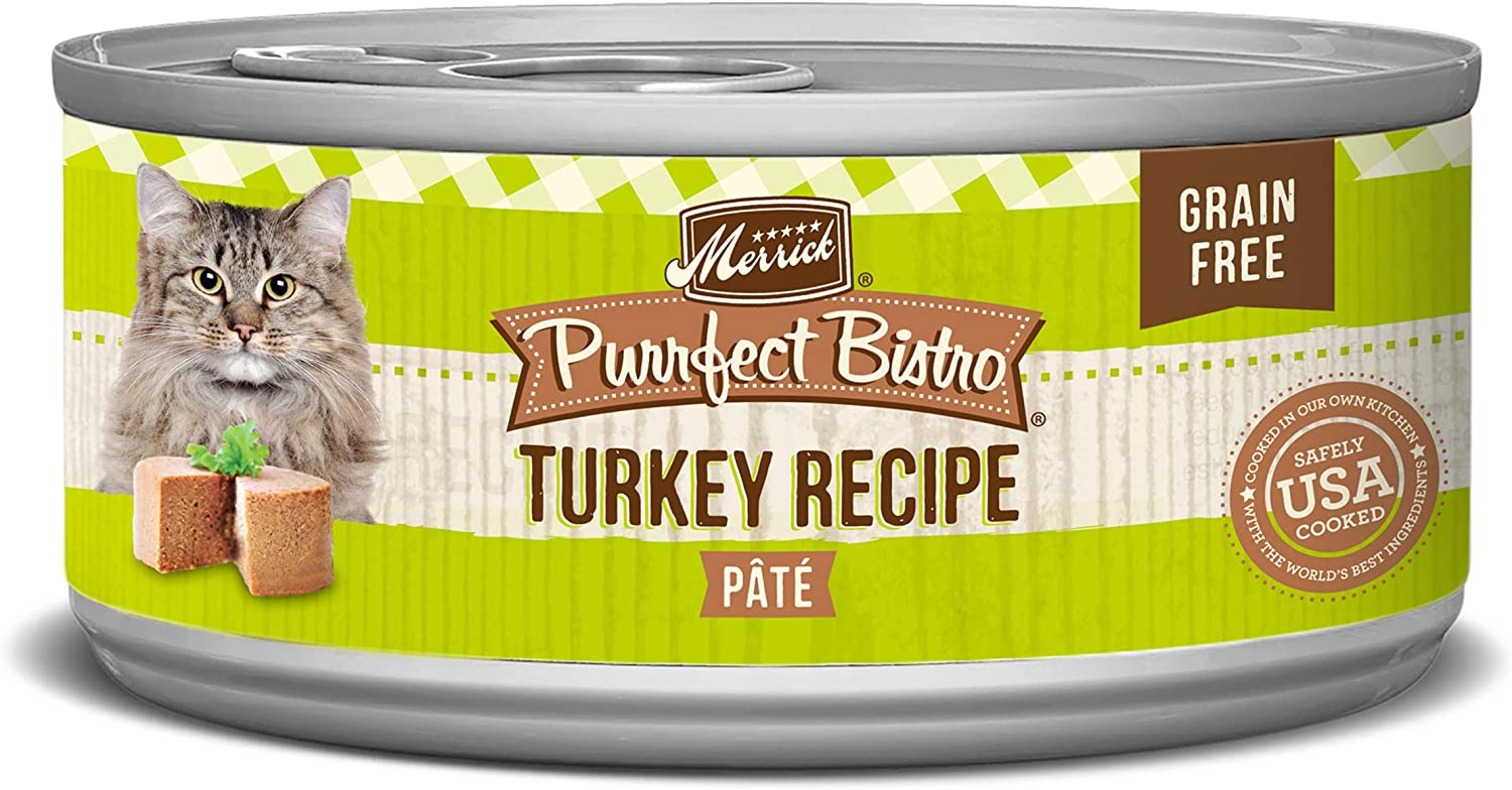 Merrick Purrfect Bistro Grain Free Canned Wet Cat Food