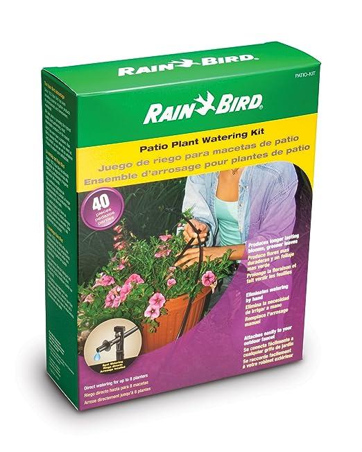Rain Bird Corp. ConsumerPATIO-KITDrip Kit-PATIO WATERING KIT: Amazon.es: Jardín