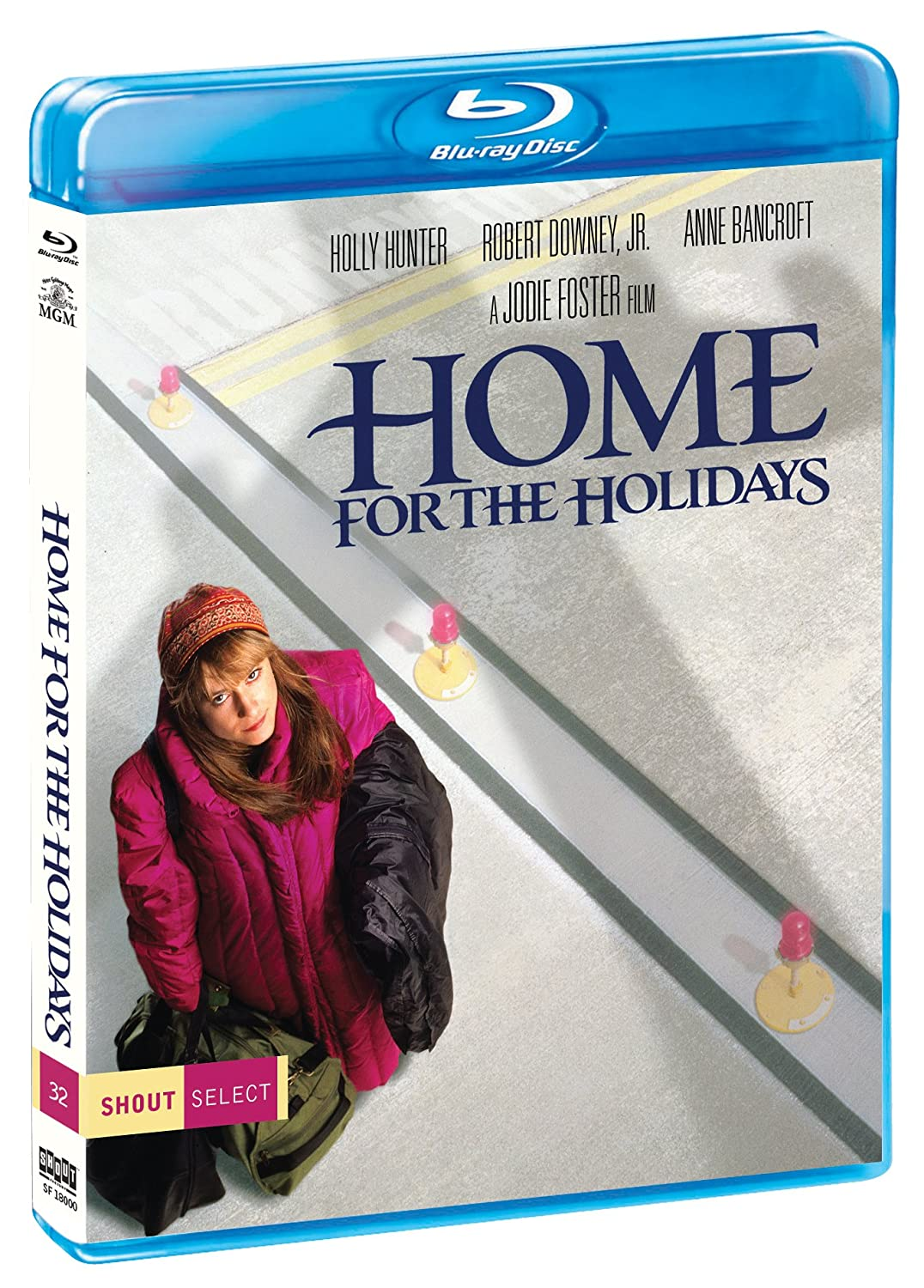Amazon Com Home For The Holidays Blu Ray Holly Hunter Robert Downey Jr Anne Bancroft Claire Danes Jodie Foster Movies Tv