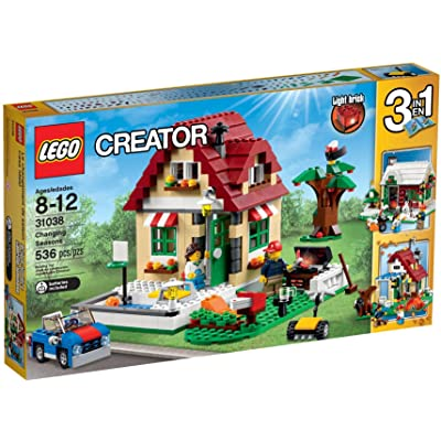 LEGO Creator 31038 Changing Seasons Building Kit: Toys & Games