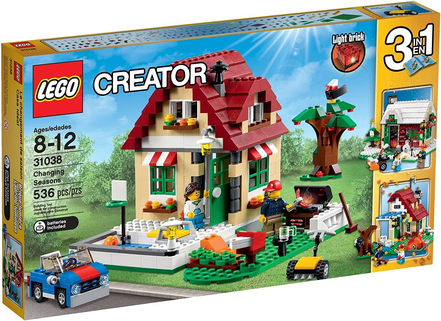 Lego Creator - Casa Ideal, Multicolor (31038)