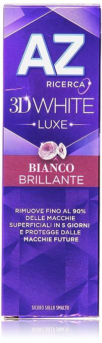 70 opinioni per AZ 3DWhite Luxe Bianco Brillante Dentifricio da 75 ml