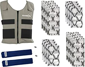 Glacier Tek Sports Cool Vest Bundle, with biobased Cooling Packs Plus Spare Pack Set