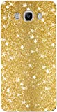 Novo Style Luxury Fashion Bling Sparkling Glitter Soft Back Cover Case For SamsungGalaxyj7 2016- Dark Golden
