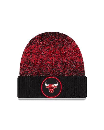 f573f057297 New Era Chicago Bulls On the Court Cuff Knit Hat (OSFA