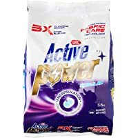 UIC Active Power Laundry Powder Detergent - Regular, 5.5 kilograms