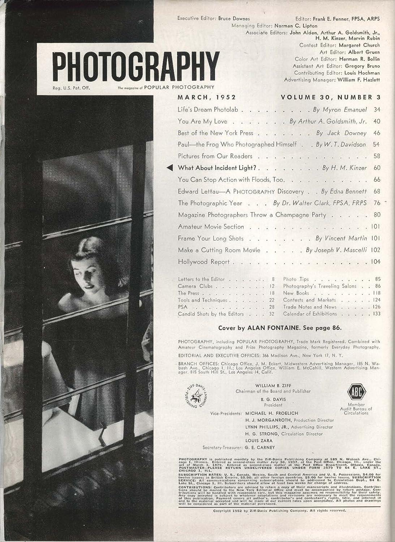 Amateur photographer circulation audit