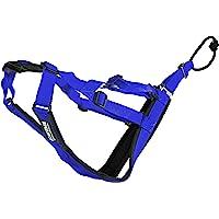 Neewa Adjustable Sled Pro Harness (Small, Blue), Dog Harness Large Breed, Dog Pulling Harness, Giant Dog Harness, Sled…