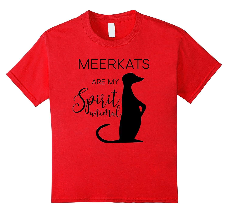 Womens Meerkat Lettering T Shirt Heather-Veotee