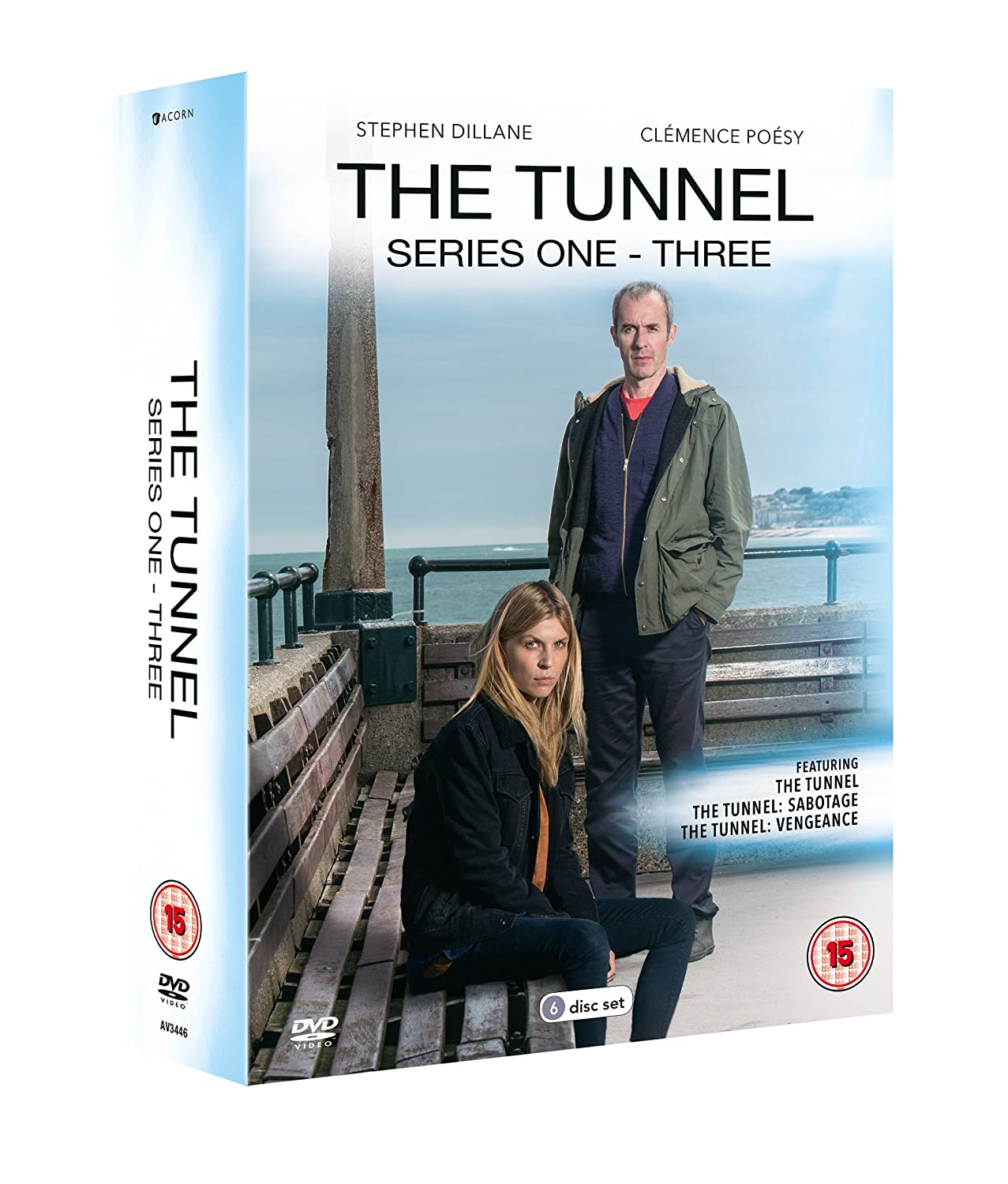 The Tunnel: Series 1-3 Box Set