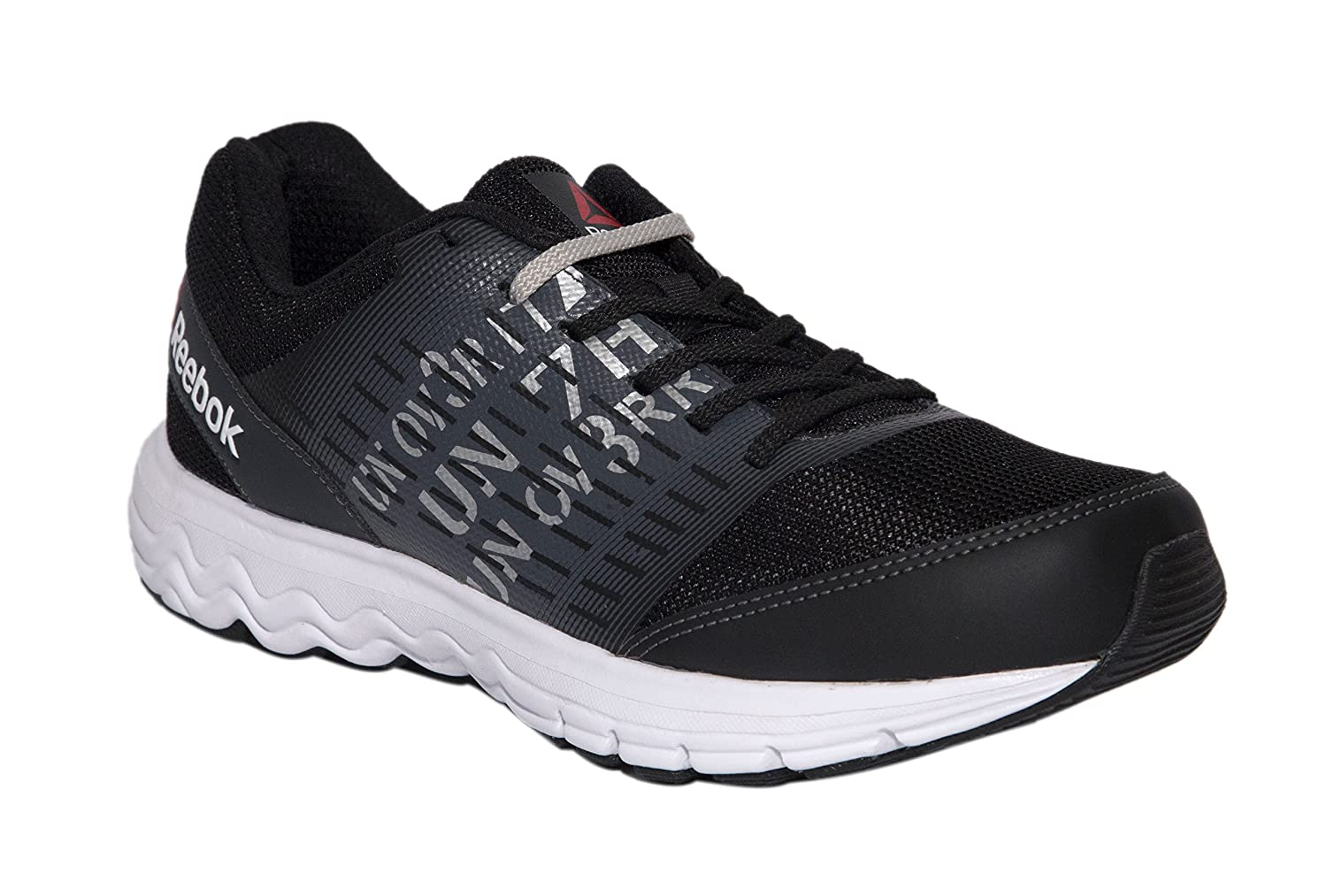 789484bf9 Reebok Men s Dual Dash Run Black Running Shoes - 7 UK India (40.5 EU)(8  US)(BS7189)  Buy Online at Low Prices in India - Amazon.in