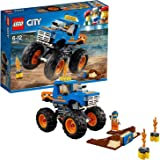 LEGO 60180 City Great Vehicles Monster Truck Toy, Vehicle Construction Set for Kids,muilti colour