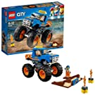 LEGO 60180 City Great Vehicles Monster Truck Toy with Driver and Stunt Show Accessories, Car Sets for Kids